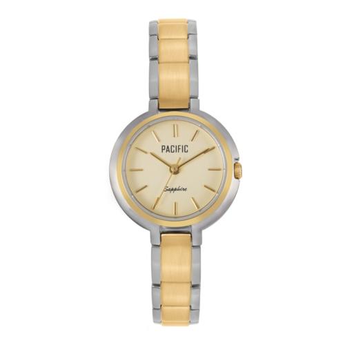 srebrno-złoty damski zegarek S6004 z kolekcji pacific premium