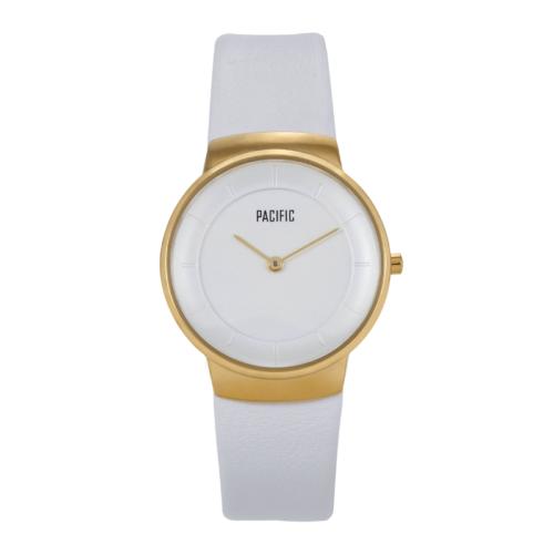 Biały zegarek damski X3011 z kolekcji Pacific Classic