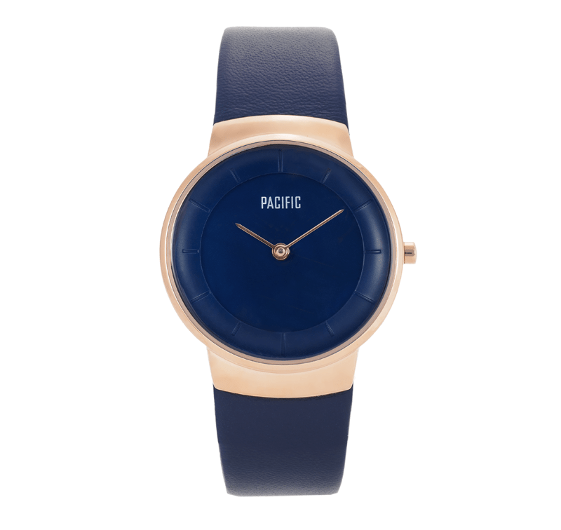 Granatowy zegarek damski X3011 z kolekcji Pacific Classic