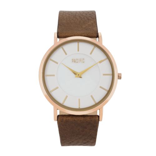 Brązowy zegarek damski X3014 z kolekcji Pacific Fiord