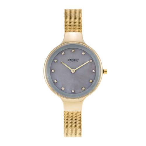 złoty damski zegarek X6009-3 z kolekcji pacific fiord