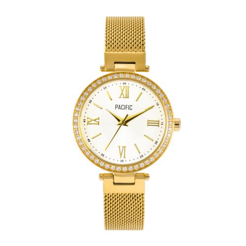 złoty damski zegarek X6017 z kolekcji pacific fashion