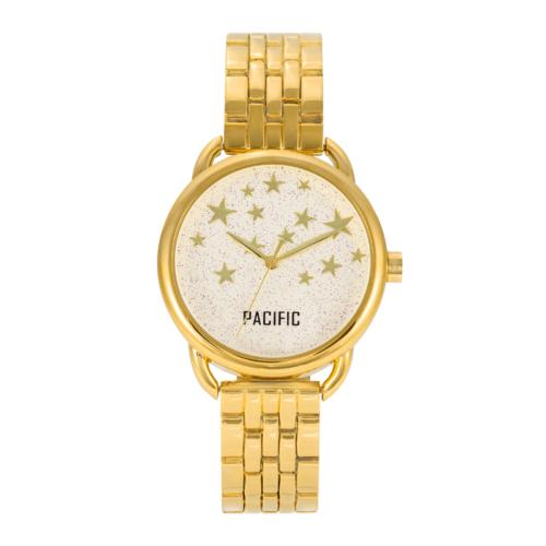 złoty damski zegarek X6020 z kolekcji pacific fashion