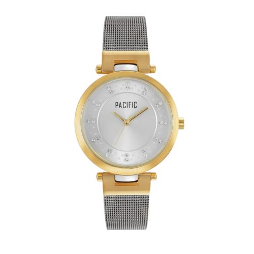 srebrny damski zegarek X6034 z kolekcji pacific fashion