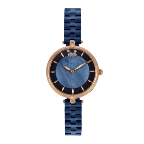 srebrny damski zegarek S6002 z kolekcji pacific premium