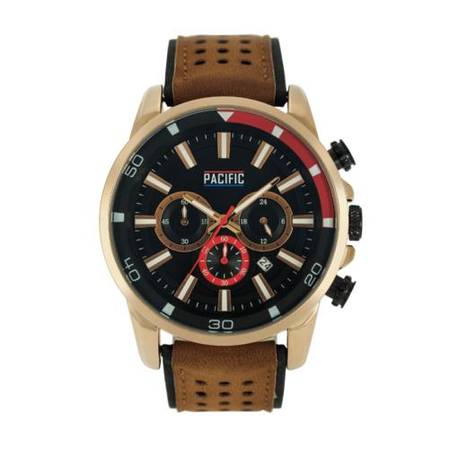 Brązowy męski zegarek X0033 z kolekcji Pacific Active
