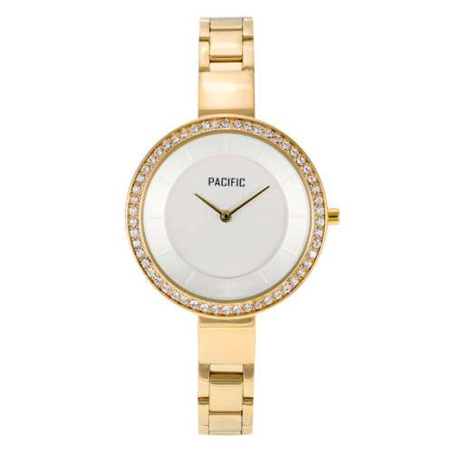 złoty damski zegarek X6009-4 z kolekcji pacific fiord