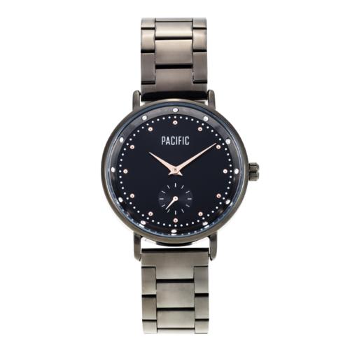 czarny damski zegarek X6010 z kolekcji pacific fashion
