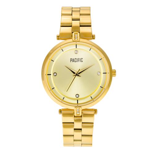 złoty damski zegarek X6011 z kolekcji pacific fashion