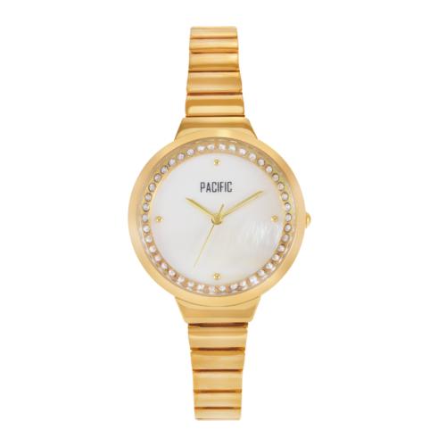 srebrny damski zegarek X6014 z kolekcji pacific fashion