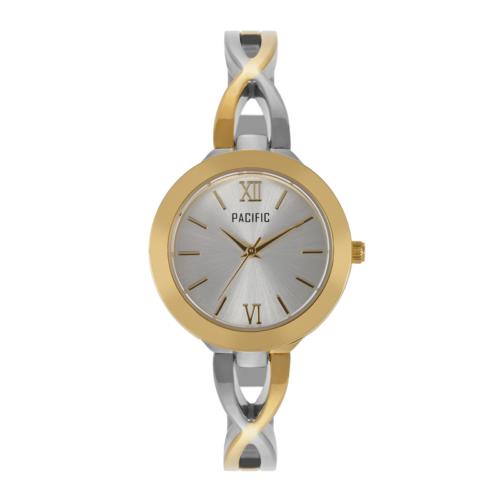 srebrno-złoty damski zegarek X6042 z kolekcji pacific fashion