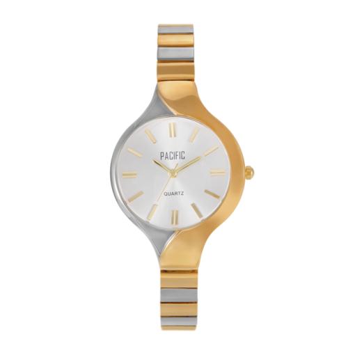 srebrno-złoty damski zegarek X6055 z kolekcji pacific fashion
