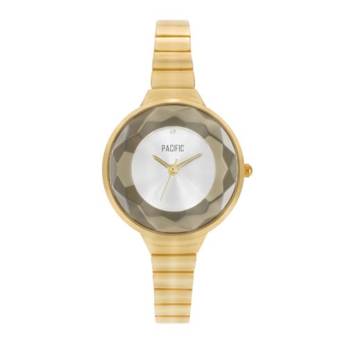 złoty damski zegarek X6057 z kolekcji pacific fashion